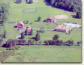 Bethany Retreat Center - Aerial View