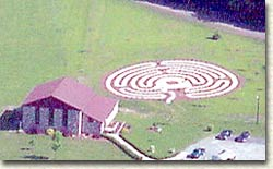 Labyrinth at Bethany Retreat Center